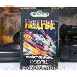 Manual HellFire Sega Genesis