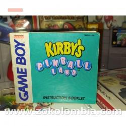 Manual Kirby's Pinball GameBoy