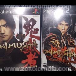 Combo Onimusha 1 Y 2 PS2