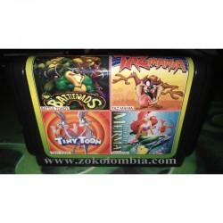 Casette 4 en 1 Sega MegaDrive