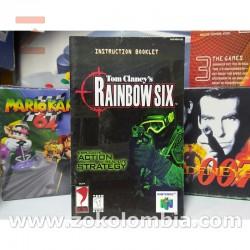 Manual Rainbow Six Nintendo 64