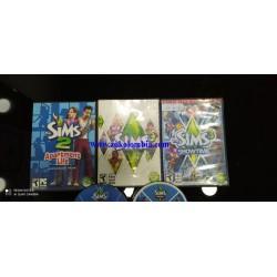 Colección de los Sims 1, 2,...